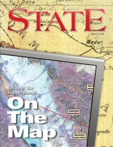 State Magazine (March 2009) Office of the Geographer